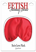 Fetish Fantasy Series Satin Love Mask - Red (72167.4)